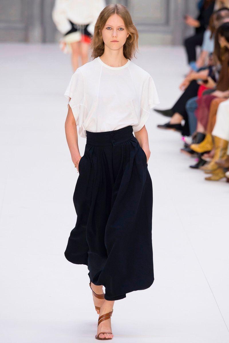 Фото №1: Женская одежда Chloe из коллекции Весна-лето 2017