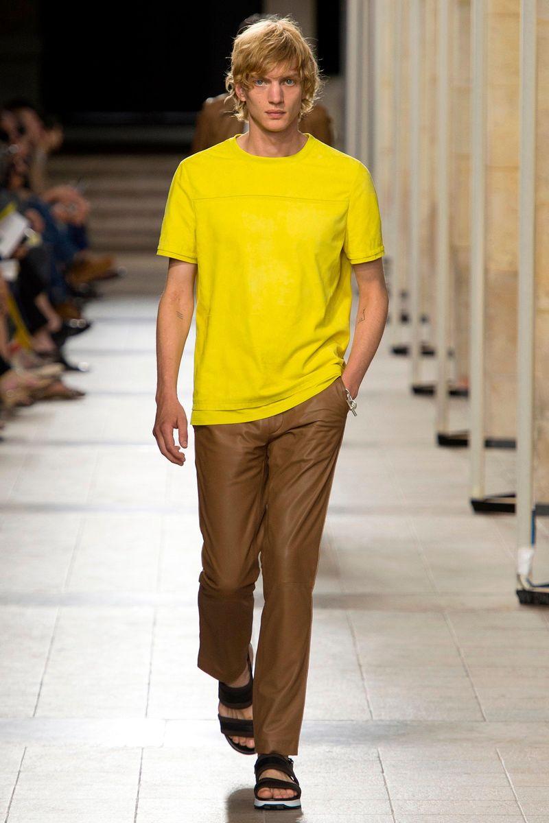 Фото №1: Мужская одежда Hermes из коллекции Весна-лето 2017