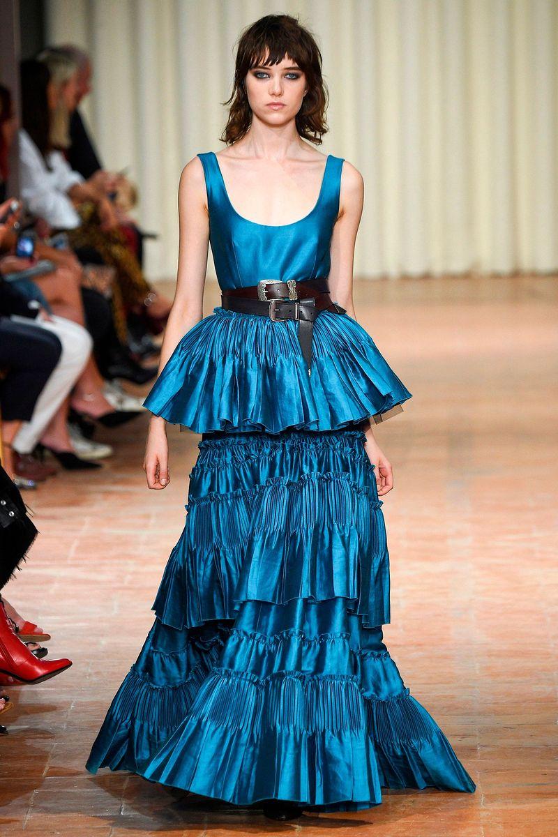Фото №1: Платье Alberta Ferretti из коллекции Весна-лето 2017