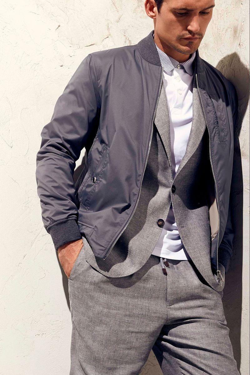 Фото №2: Куртка Brunello Cucinelli из коллекции Весна-лето 2017