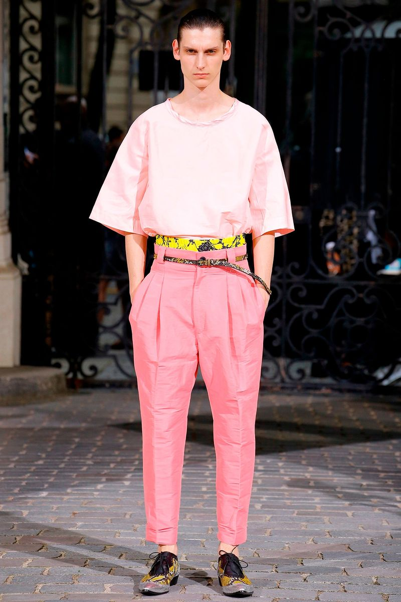 Фото №1: Мужская одежда Haider Ackermann из коллекции Весна-лето 2017