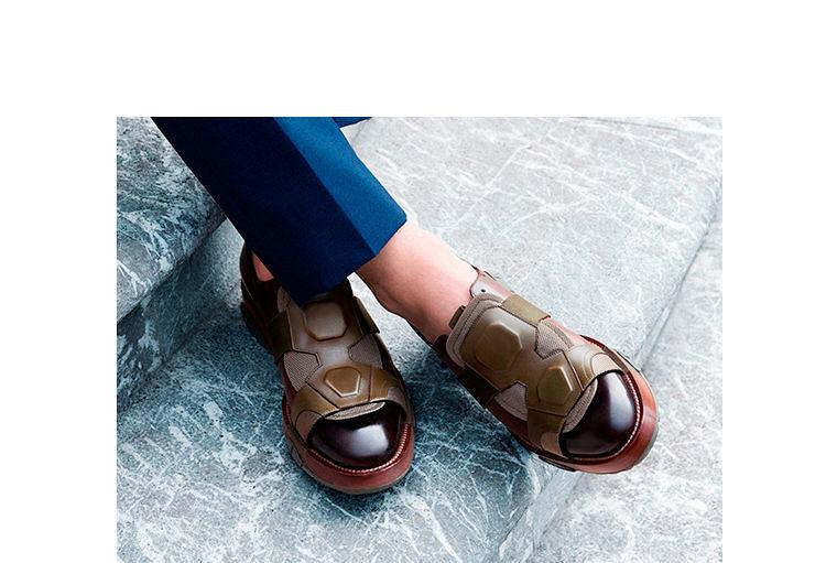 Фото №1: Туфли Salvatore Ferragamo из коллекции Весна-лето 2017
