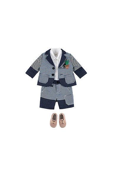 Фото №1: Детская одежда Fendi из коллекции Весна-лето 2017
