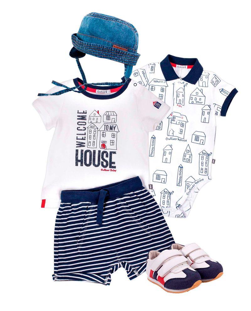 Фото №1: Детская одежда Gulliver из коллекции Весна-лето 2017