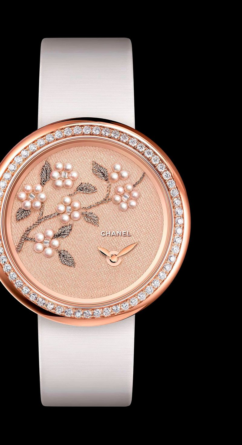 Фото №2: Часы Chanel из коллекции Весна-лето 2017