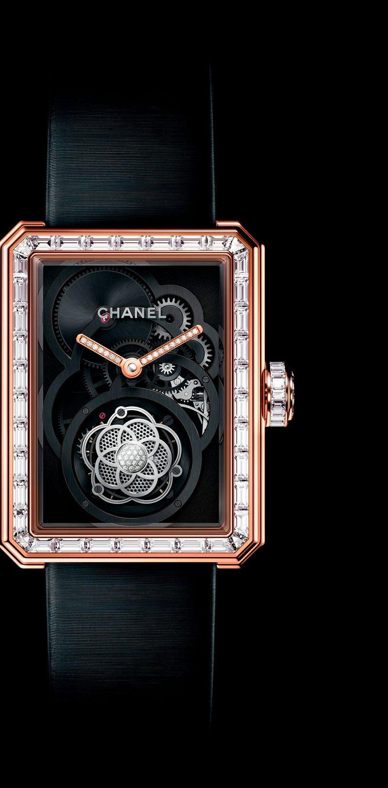 Фото №1: Часы Chanel из коллекции Весна-лето 2017