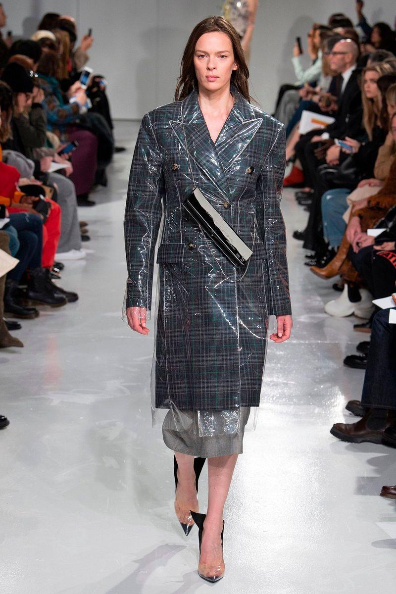 Фото №1: Женская одежда Calvin Klein из коллекции Осень-зима 2017/18