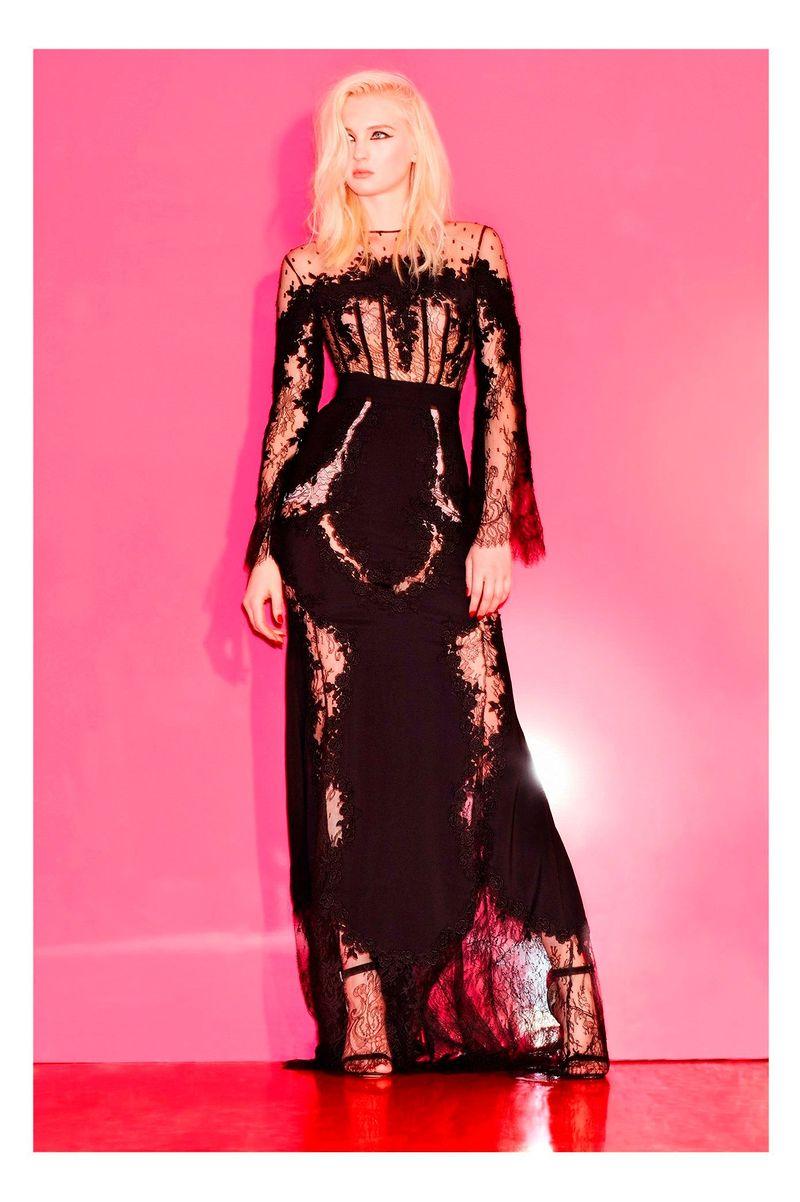 Фото №1: Ажурное платье из коллекции Pre-Fall 2017 от Zuhair Murad