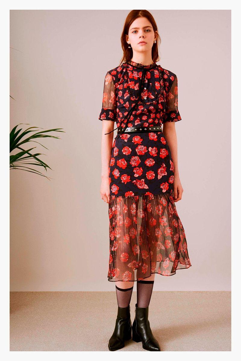 Платье Markus Lupfer из коллекции PreFall 2017