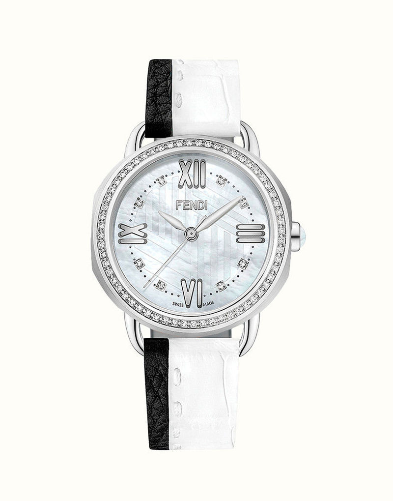 Фото №1: Женские наручные часы от Fendi из коллекции Selleria