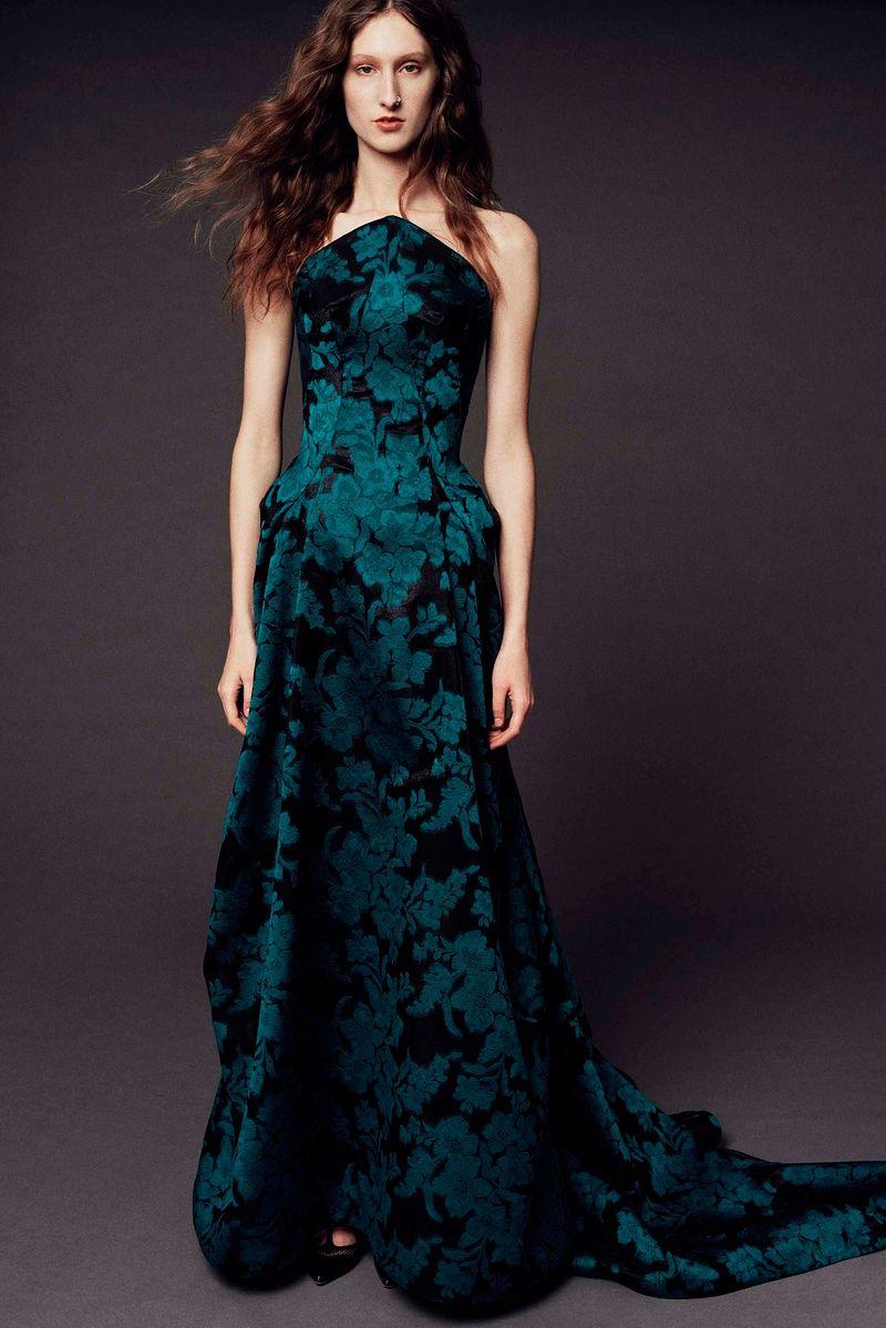 Фото №1: Платье от Zac Posen из коллекции Pre-Fall 2017