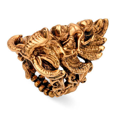 Фото №1: Перстень Gucci из коллекции колец Fashion Jewelry