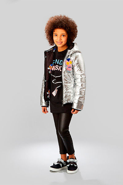 Фото №1: Куртка от Fendi из коллекции Kids Girlswear FW2017