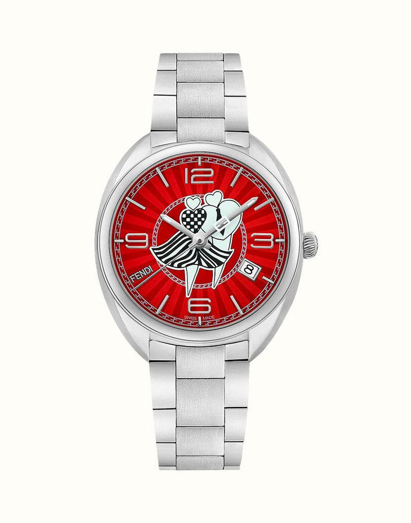 Фото №2: Наручные часы Fendi из коллекции Fendi Momento