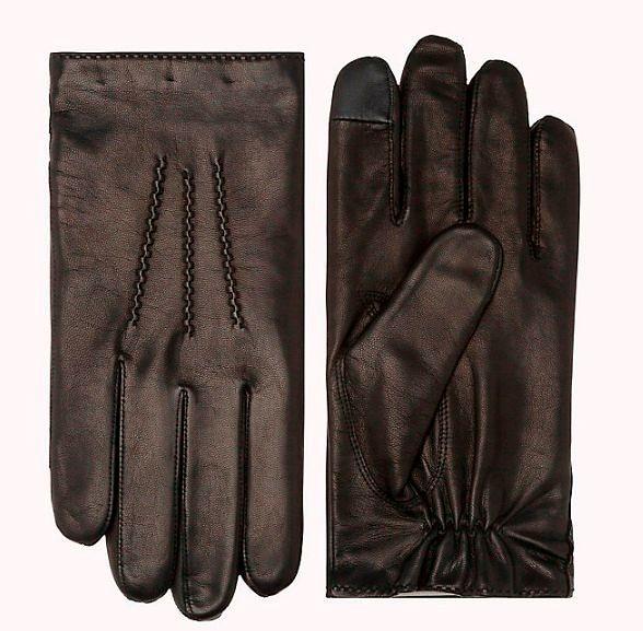 Фото №2: Перчатки Tommy HIlfiger из коллекции Men's Hats, Gloves & Scarves