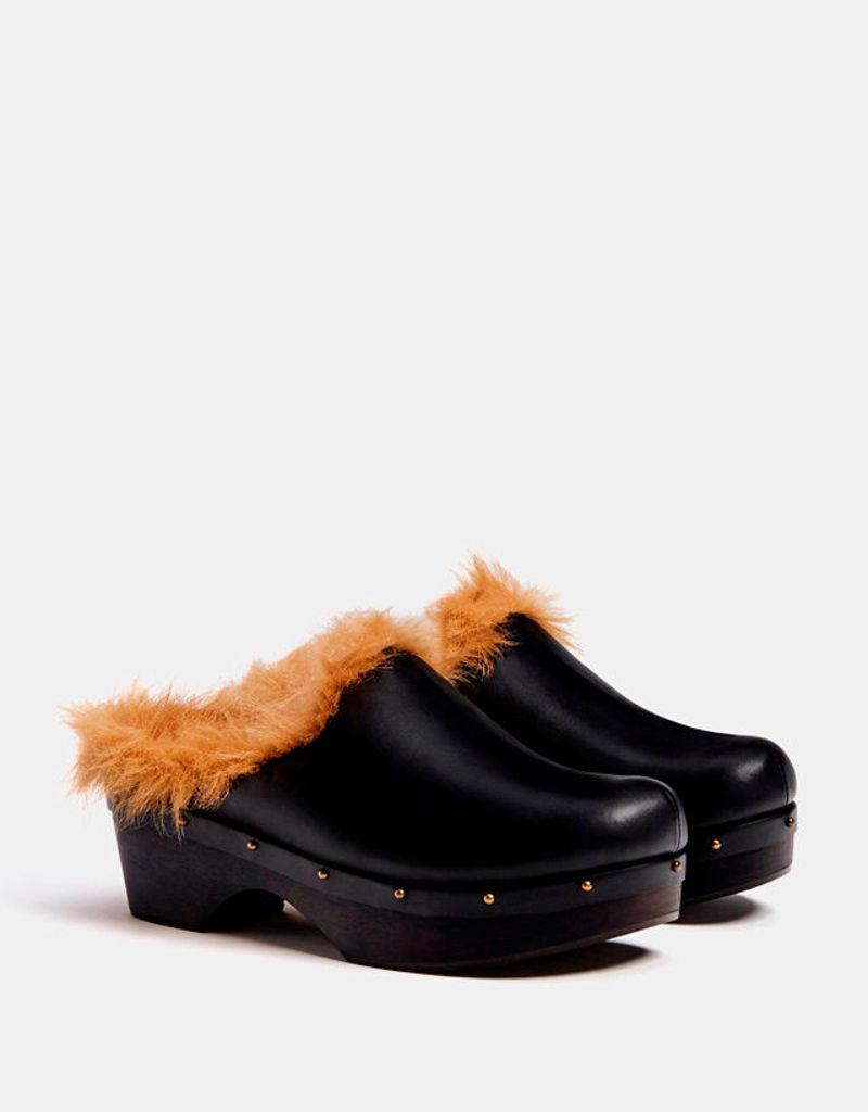 Фото №2  Сабо от Bershka из коллекции Женской обуви сезона осень-зима 2017 1d13f8821e18f