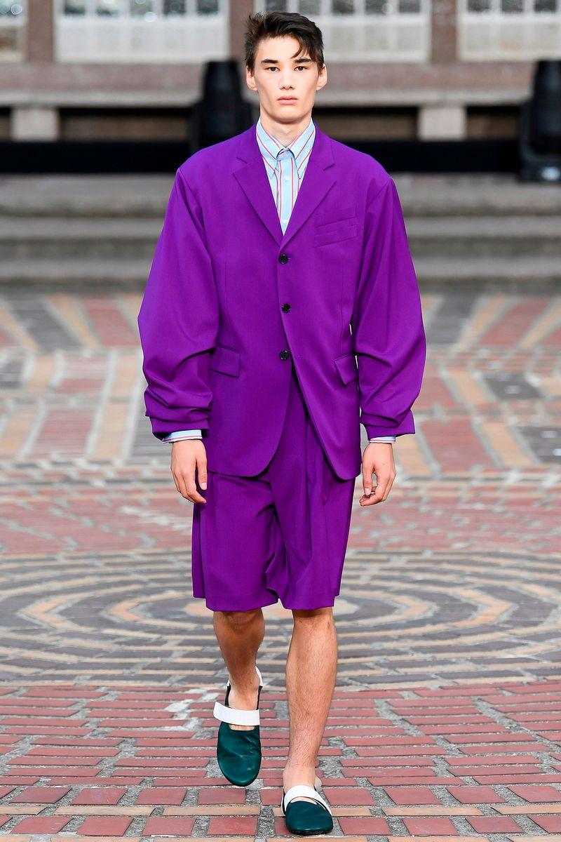 Фото №1: Костюм от Kenzo из коллекции Menswear SS2018