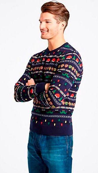 Фото №1: Джемпер от M&S из коллекции Christmas Clothing For Men