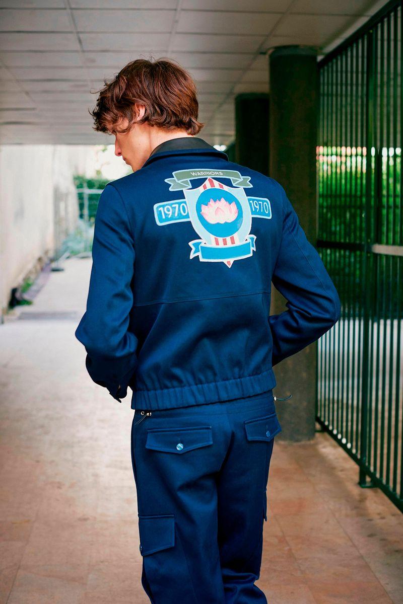 Фото №2: Костюм от John Galliano из коллекции Menswear SS2018