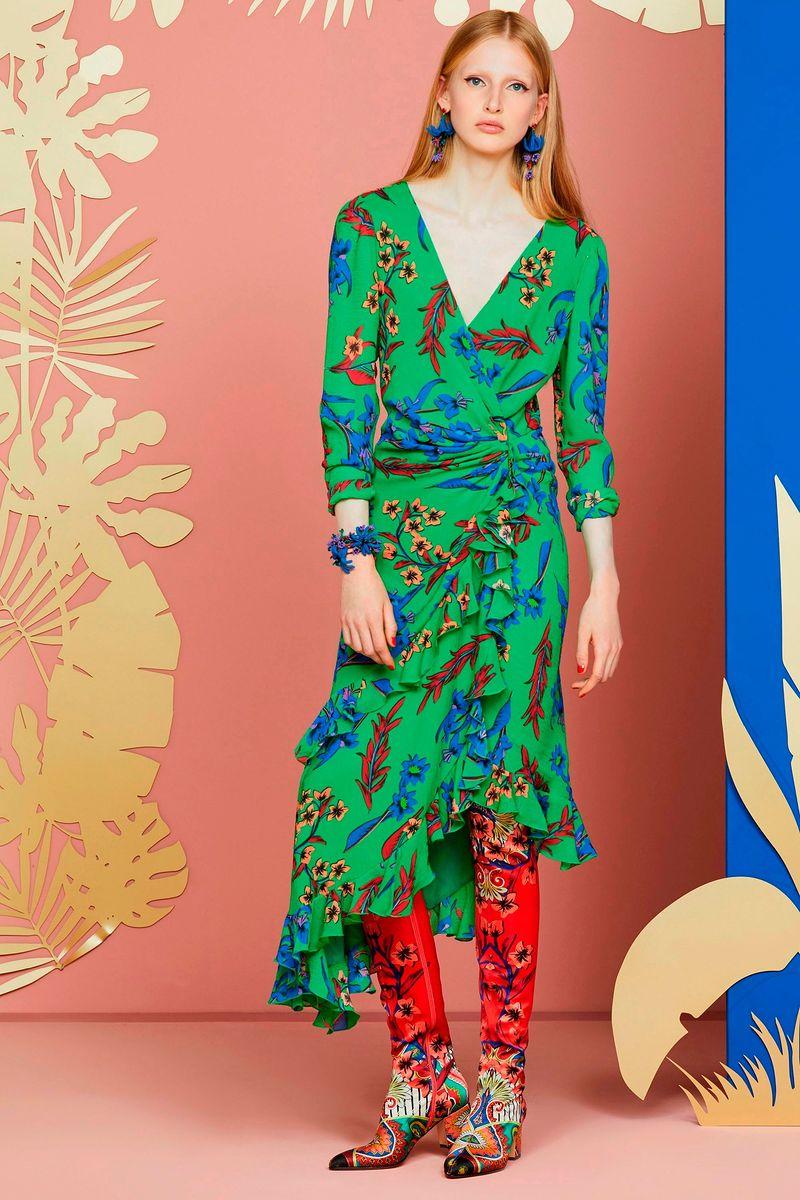 Фото №2: Платье от Etro из коллекции Resort 2018