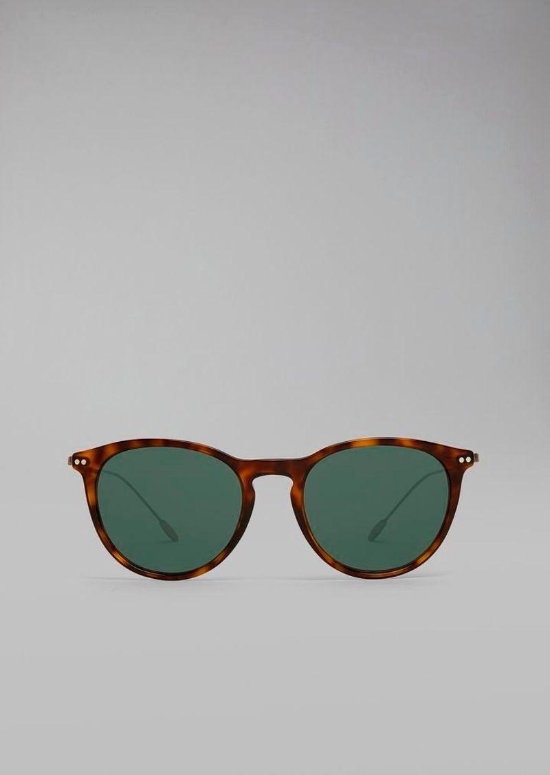 Фото №1: Очки от Giorgio Armani из коллекции Солнцезащитные очки