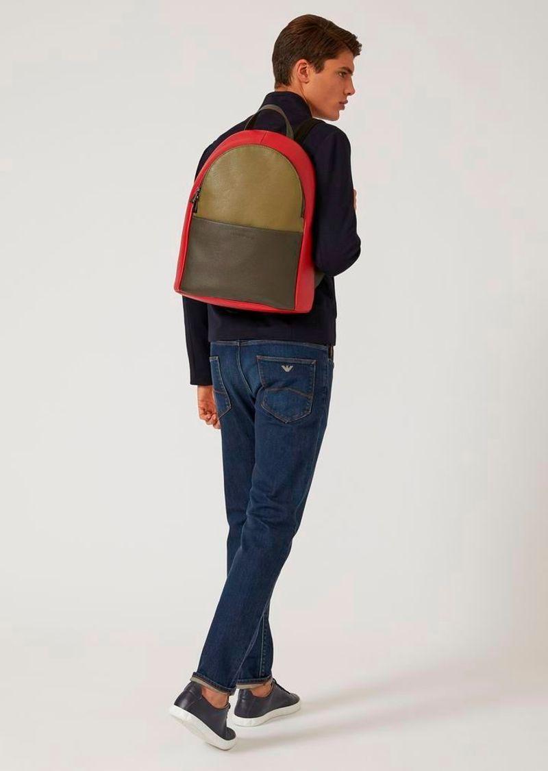 Фото №1: Рюкзак от Emporio Armani из коллекции мужских сумок