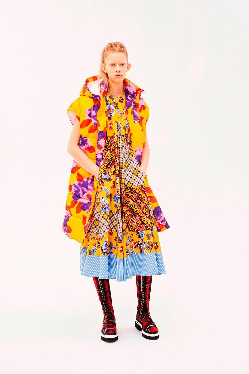 Фото №2: Платье от MSGM из коллекции Pre-Fall 2018