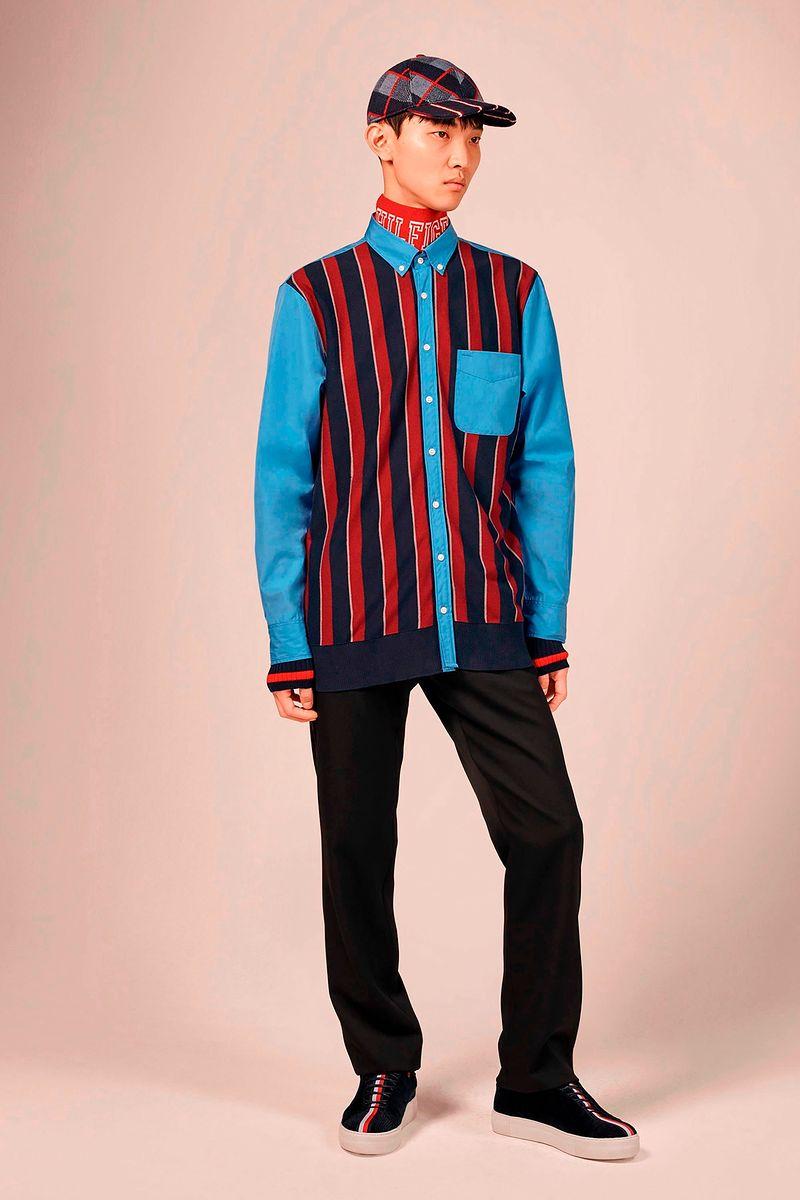 Фото №1: Рубашка от Tommy Hilfiger из коллекции Menswear F/W2018