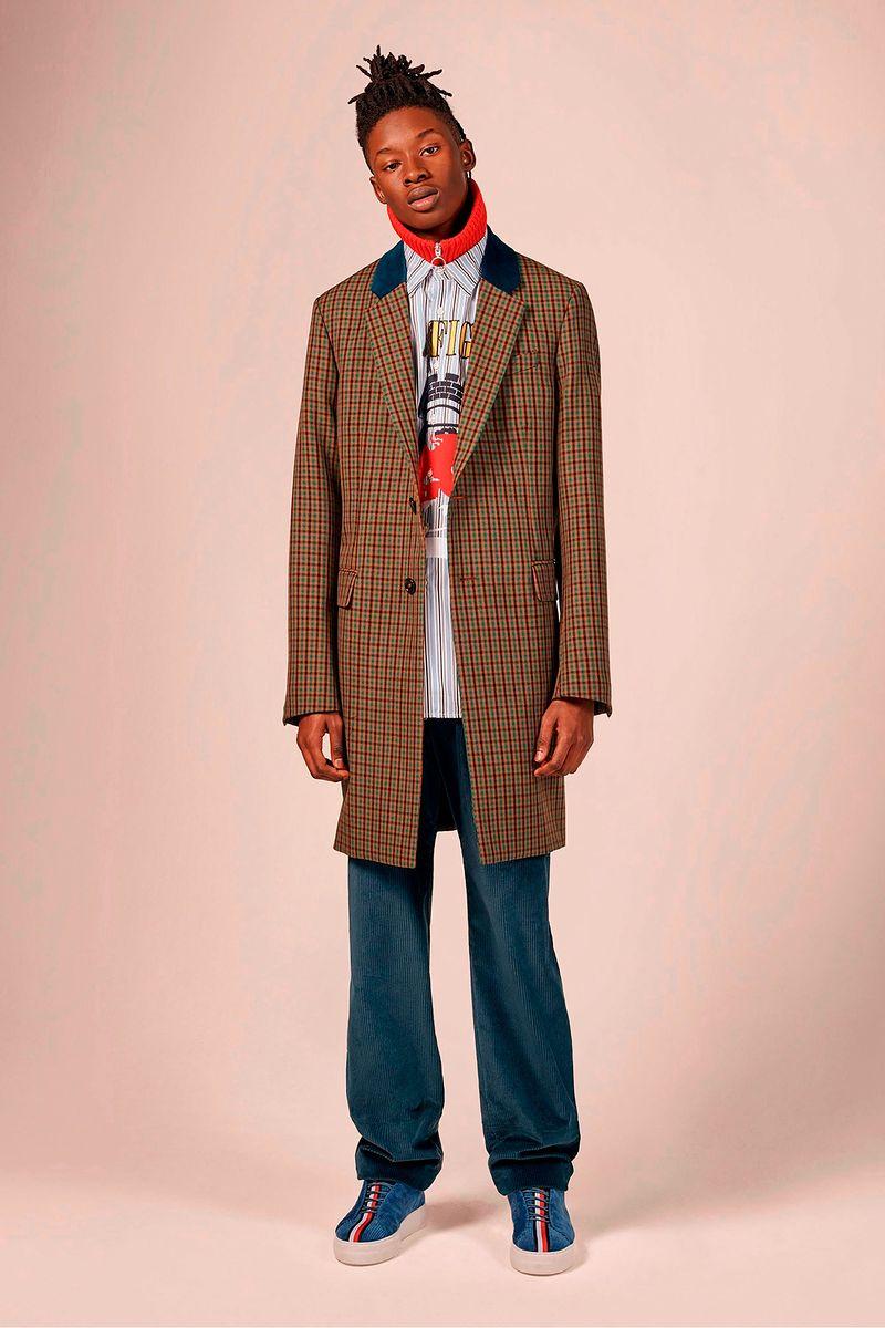 Фото №2: Пальто от Tommy Hilfiger из коллекции Menswear F/W2018