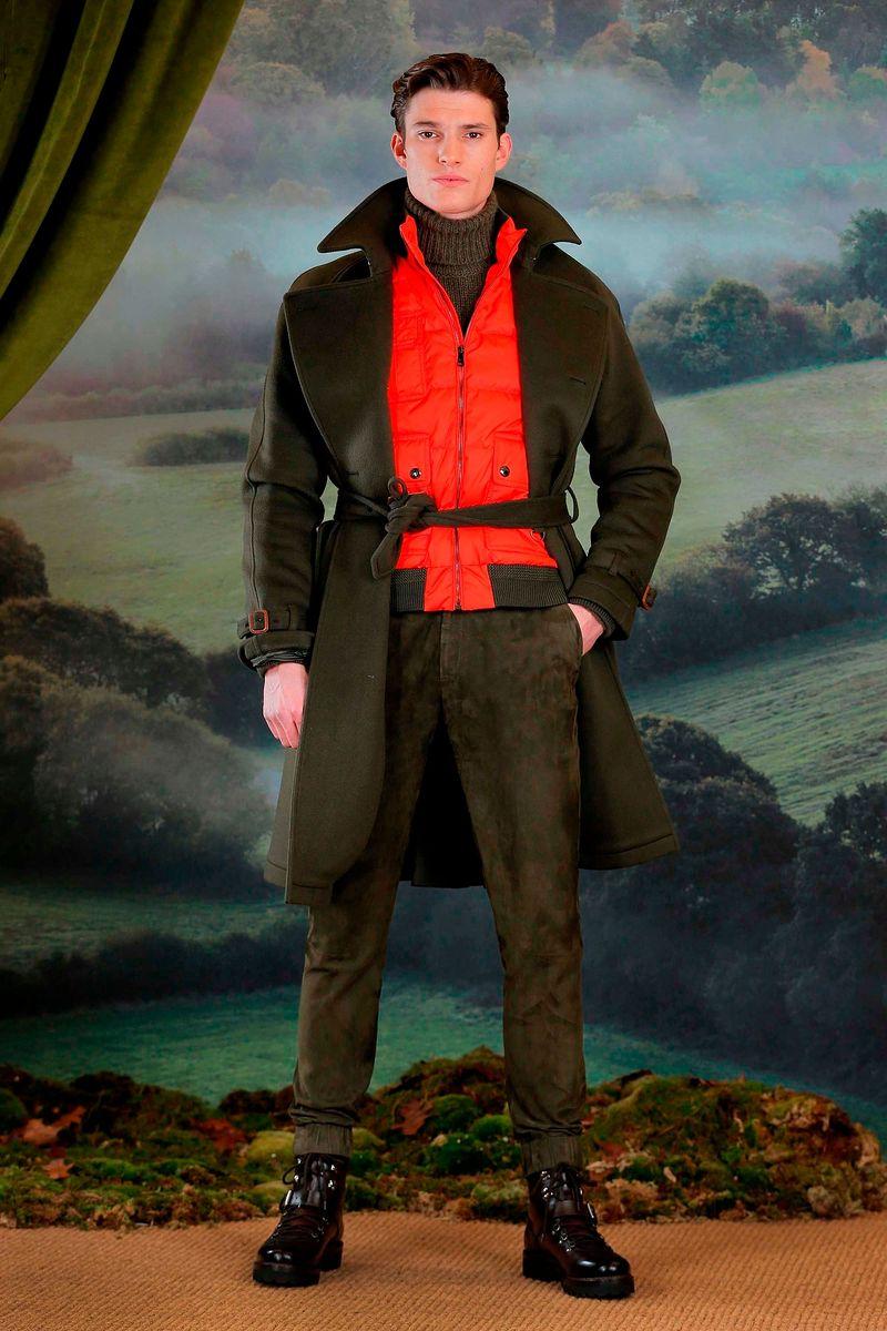 Фото №1: Пальто от Ralph Lauren из коллекции Purple Collection