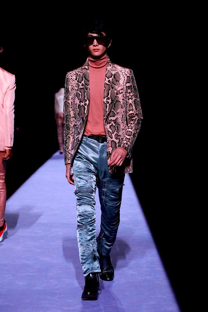 Фото №1: Пиджак от Tom Ford из коллекции Menswear Fall 2018