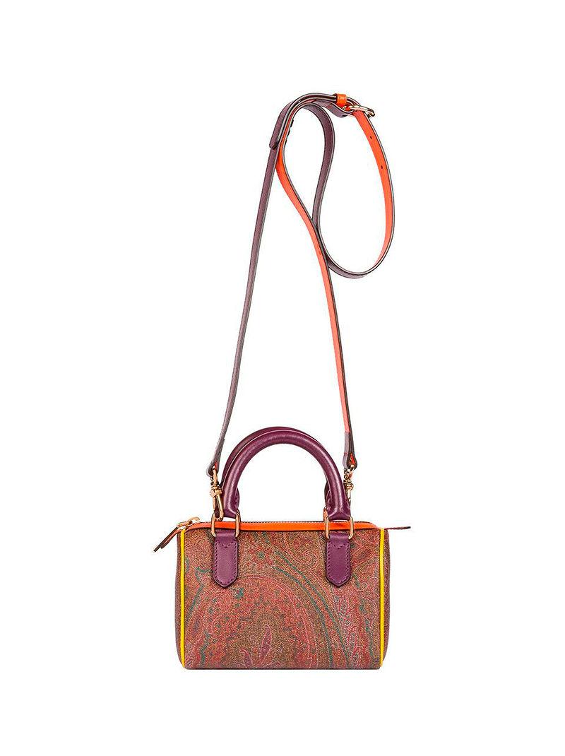 Фото №2: Сумка через плечо от Etro из коллекции Paisley Collection