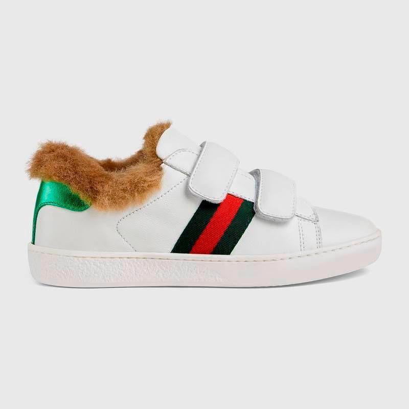 Фото №2: Кроссовки от Gucci из коллекции Back To School
