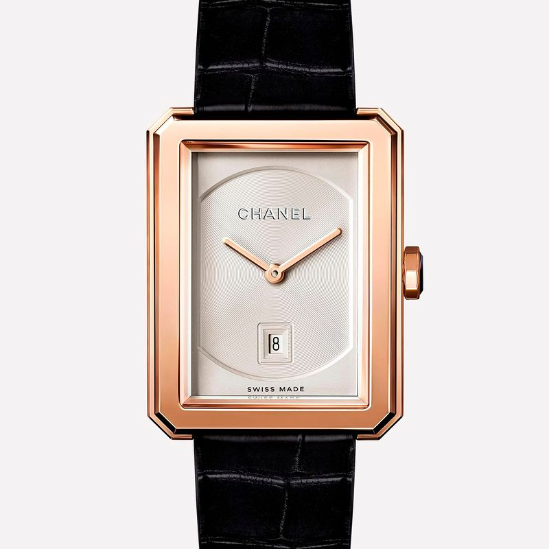 Фото №1: Часы от Chanel из коллекции BoyFriend