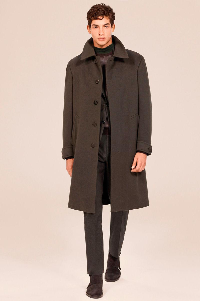 Фото №2: Пальто от Canali из коллекции Menswear FW 2018