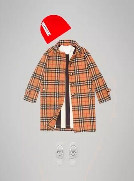 Фото №2: Пальто от Burberry из коллекции Back To School