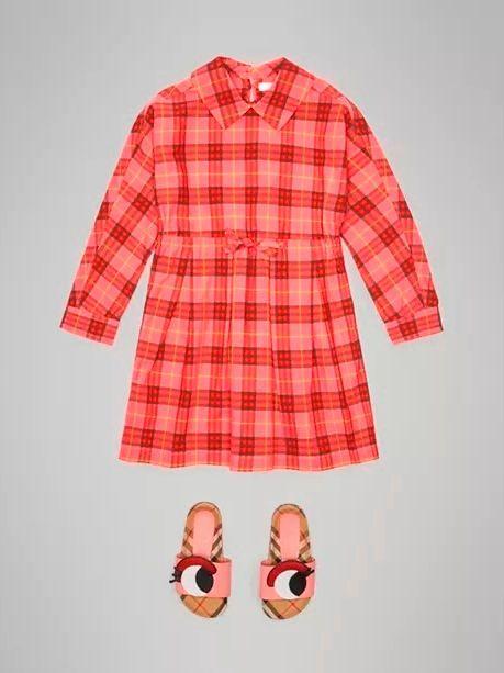 Фото №1: Платье от Burberry из коллекции Back To School
