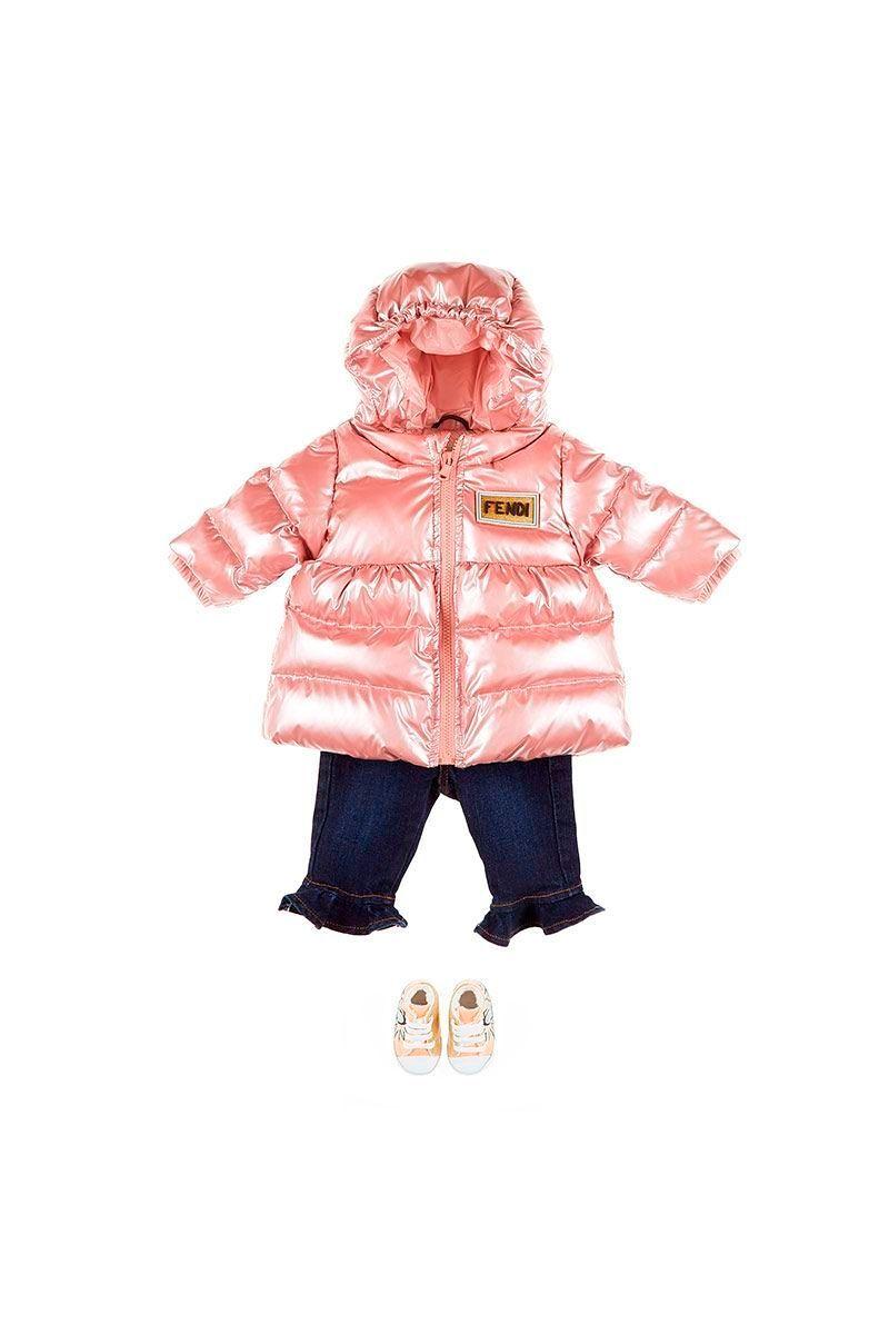 """Фото №2: Куртка от Fendi из коллекции """"Для малышей"""""""