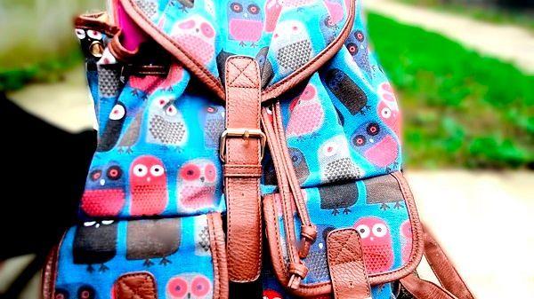 Модные сумки-ранцы для школы