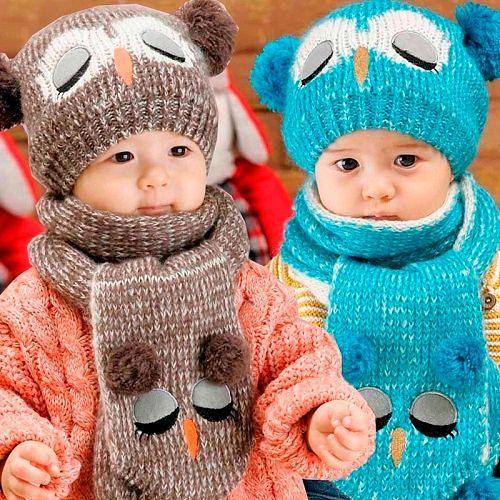 Детские зимние аксессуары на сезон Осень/Зима 2016