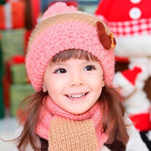Детские зимние аксессуары для 7-летних