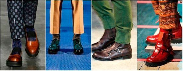 Мужские коллекции Весна-Лето 2016: обувь для весны