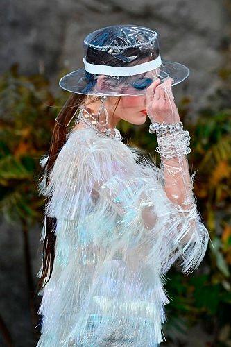 Модная женская шляпа