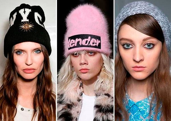 Модные женские шапки Зима 2016-2017