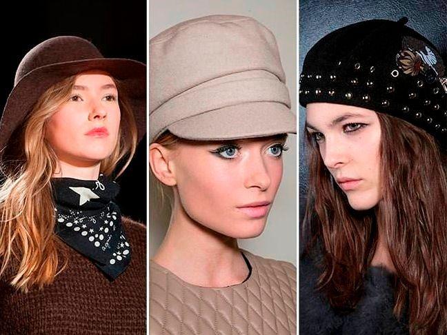 Осенние женские шапки: модные решения из коллекций 2016-2017