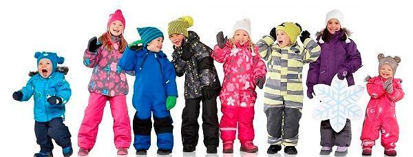 Детская верхняя одежда Зима 2016-2017