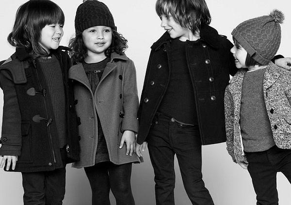 Детская одежда Зима: пальто в тренде