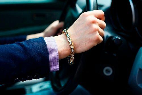 Мужские цепи на руку