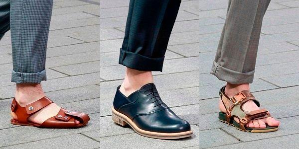Новая коллекция обуви Весна 2017 Louis Vuitton