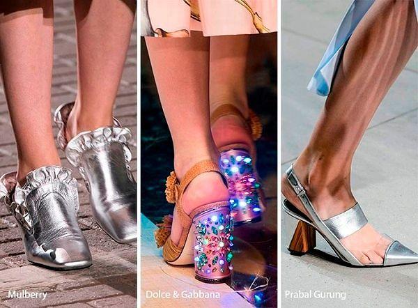 Модная женская обувь Весна 2017: фото